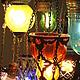Освещение ручной работы. люстра из цветного стекла Гарем. Mantipa 123. Интернет-магазин Ярмарка Мастеров. Роскошь, светильник, радость