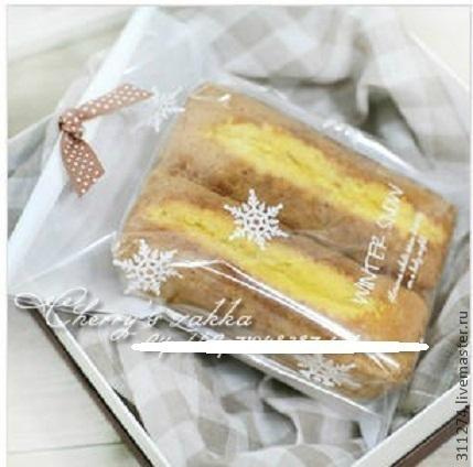 Упаковка ручной работы. Ярмарка Мастеров - ручная работа. Купить Новогодний пакет для упаковки подарка.. Handmade. Белый, упаковка для мыла