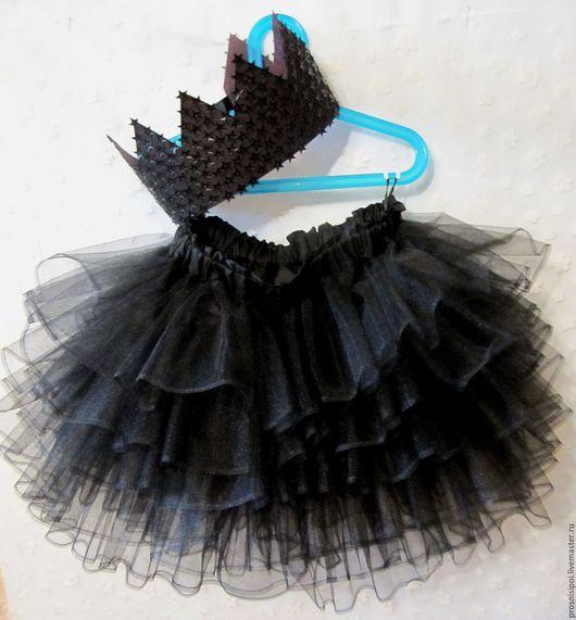Одежда для девочек, ручной работы. Ярмарка Мастеров - ручная работа. Купить пышная юбочка-пачка. Handmade. Черный, юбка-пачка