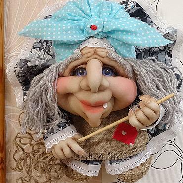Куклы и игрушки ручной работы. Ярмарка Мастеров - ручная работа Куклы: Кукла на Удачу Баба-Яга. Handmade.