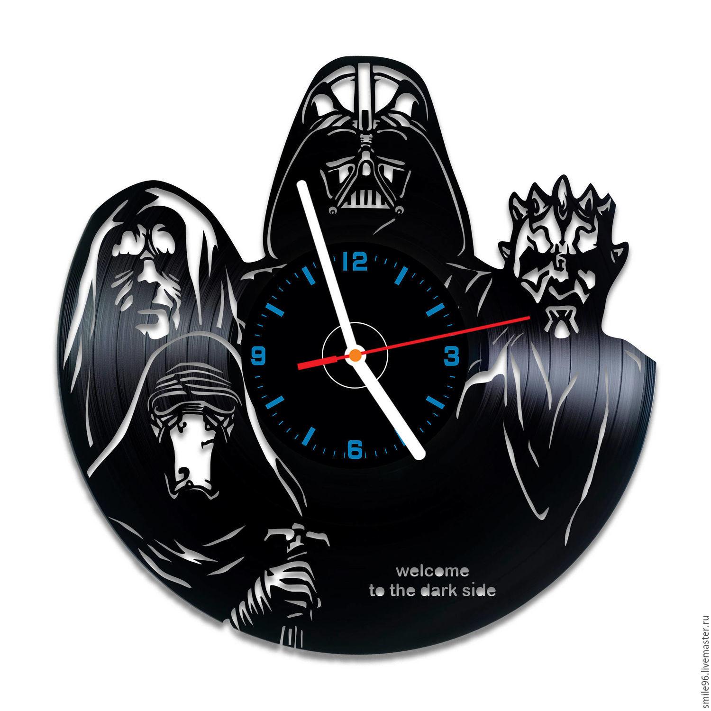 "Часы из виниловой пластинки ""Star Wars"", Часы, Екатеринбург, Фото №1"