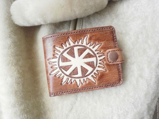 Кошельки и визитницы ручной работы. Ярмарка Мастеров - ручная работа. Купить кошелёк портмоне из кожи кошелёк мужской кожаный ручной работы. Handmade.