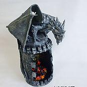 Ночники ручной работы. Ярмарка Мастеров - ручная работа Дракон (светильник). Handmade.