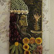"""Картины и панно ручной работы. Ярмарка Мастеров - ручная работа Панно """"Воин"""". Handmade."""