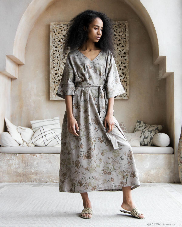 """Платье """"Руанда"""" из фактурного льна, Платья, Москва,  Фото №1"""