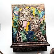 Сувениры и подарки handmade. Livemaster - original item Stand for phone, tablet, book. Gift.. Handmade.