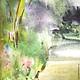 """Пейзаж ручной работы. Два пейзажа """"После дождя"""". Галина Кабанец. Интернет-магазин Ярмарка Мастеров. Украшение интерьера"""