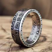 Украшения handmade. Livemaster - original item Ring made of 1 lari coin from 2006, Georgia. Handmade.