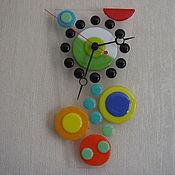 """Для дома и интерьера ручной работы. Ярмарка Мастеров - ручная работа Часы """" Поп-арт"""". Handmade."""