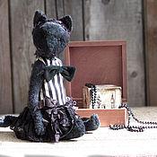 Куклы и игрушки handmade. Livemaster - original item Charlie, Teddy-cat. Handmade.
