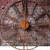 Большие настенные часы 1.5 метра, ковка