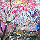 Watercolor 'Cherry Blossom'. Pictures. Multicolor Gallery. My Livemaster. Фото №5