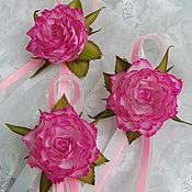 Украшения ручной работы. Ярмарка Мастеров - ручная работа Браслетик с розой из фоамирана. Handmade.
