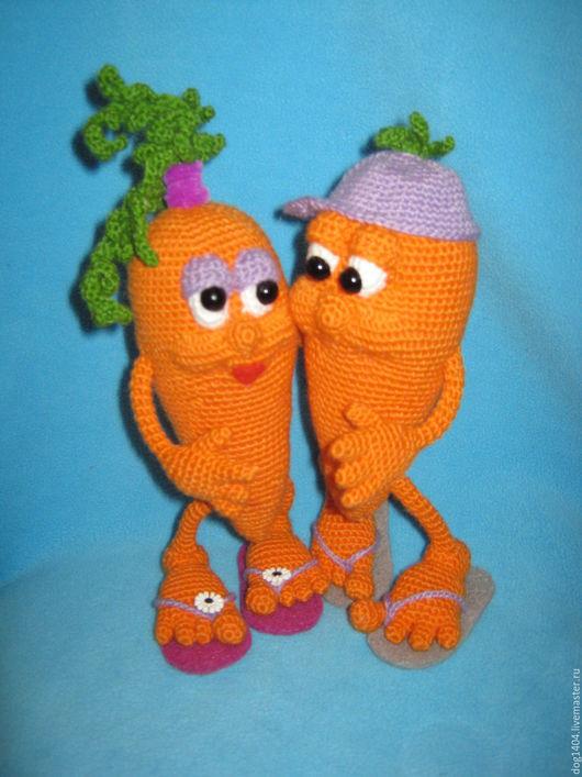 Обучающие материалы ручной работы. Ярмарка Мастеров - ручная работа. Купить МК по вязанию игрушки Любовь-морковь. Handmade. Комбинированный