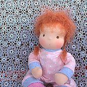 Куклы и игрушки ручной работы. Ярмарка Мастеров - ручная работа Текстильная кукла Агата. Handmade.