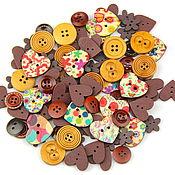 Материалы для творчества handmade. Livemaster - original item A set of buttons