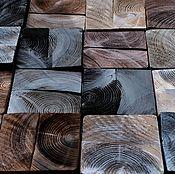 Картины и панно handmade. Livemaster - original item Panels wooden Chocolate Loft. Wall panels. Panel of wood. Handmade.