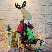 Куклы и игрушки ручной работы. Ярмарка Мастеров - ручная работа Тильда Лосик Сантери. Handmade.