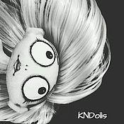 """Куклы и игрушки ручной работы. Ярмарка Мастеров - ручная работа Кукла текстильная ручной работы """"В стиле Бёртона"""". Handmade."""