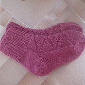 Аксессуары ручной работы. Ярмарка Мастеров - ручная работа вязаные носки 18-19 размер (12см.стопа). Handmade.