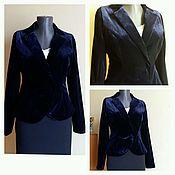 Одежда handmade. Livemaster - original item The velvet jacket on the figure. Handmade.