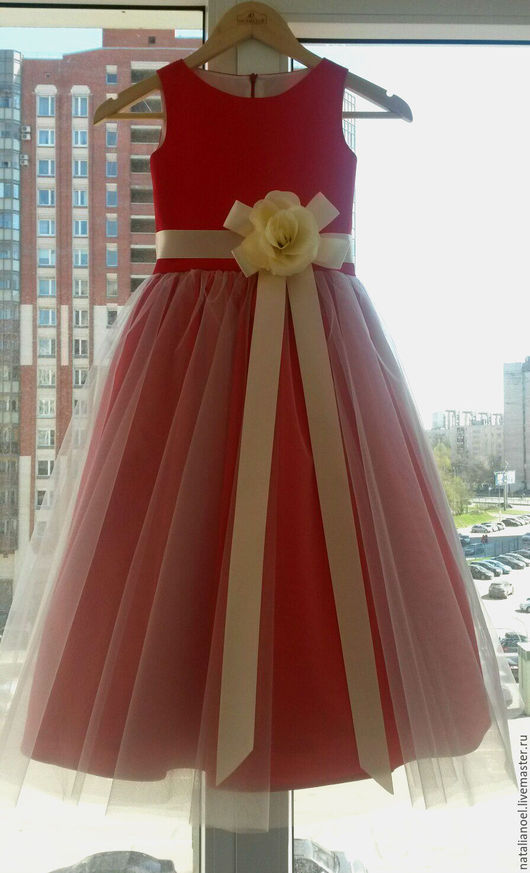 Одежда для девочек, ручной работы. Ярмарка Мастеров - ручная работа. Купить Нарядное детское платье. Handmade. Платье нарядное