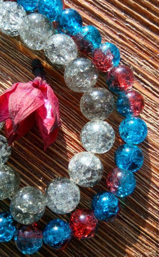 Для украшений ручной работы. Ярмарка Мастеров - ручная работа. Купить Кварц снежный (сахарный) 10 мм,12 мм (бусины). Handmade.