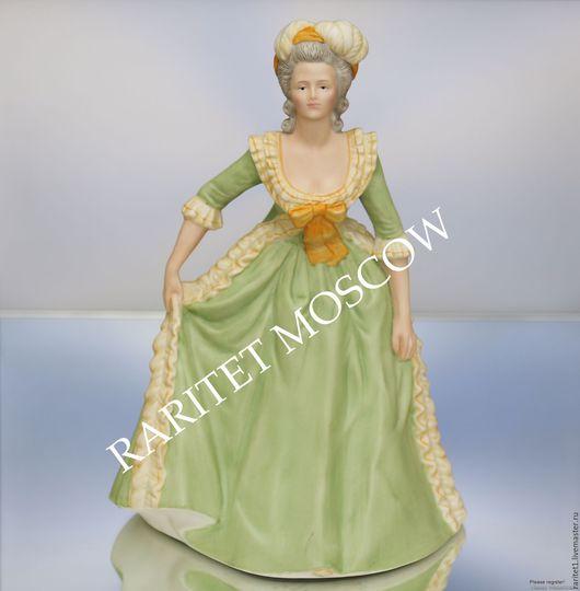 Винтажные предметы интерьера. Ярмарка Мастеров - ручная работа. Купить Королева Антуанетта фарфор Franklin Porcelain 8. Handmade. Разноцветный