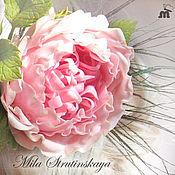 Свадебный салон ручной работы. Ярмарка Мастеров - ручная работа Староанглийская роза (пионовидная роза) из холодного фарфора. Handmade.