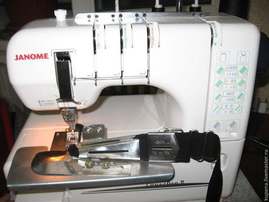 Пластина крепится к распошивальной машинке болтами, которые идут в комплекте с машинкой в заводские отверстия