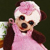 Куклы и игрушки ручной работы. Ярмарка Мастеров - ручная работа Мишка тедди Ариша (19,5 см). Handmade.