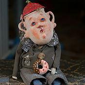Куклы и игрушки ручной работы. Ярмарка Мастеров - ручная работа Егорка - мальчик сахарница. Handmade.