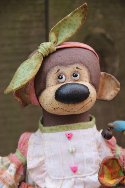 Ароматизированные куклы ручной работы. Ярмарка Мастеров - ручная работа. Купить Обезьянка и Шуша. Handmade. Разноцветный, символ 2016 года