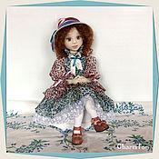 Куклы и пупсы ручной работы. Ярмарка Мастеров - ручная работа Виолетта - кисейная барышня. Авторская текстильная кукла. Handmade.