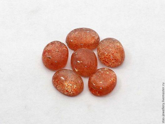 Для украшений ручной работы. Ярмарка Мастеров - ручная работа. Купить Солнечный камень (гелиолит). Handmade. Рыжий, солнечный камень