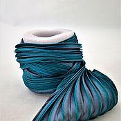 Материалы для творчества handmade. Livemaster - original item Silk ribbon Shibori N 128. Handmade.