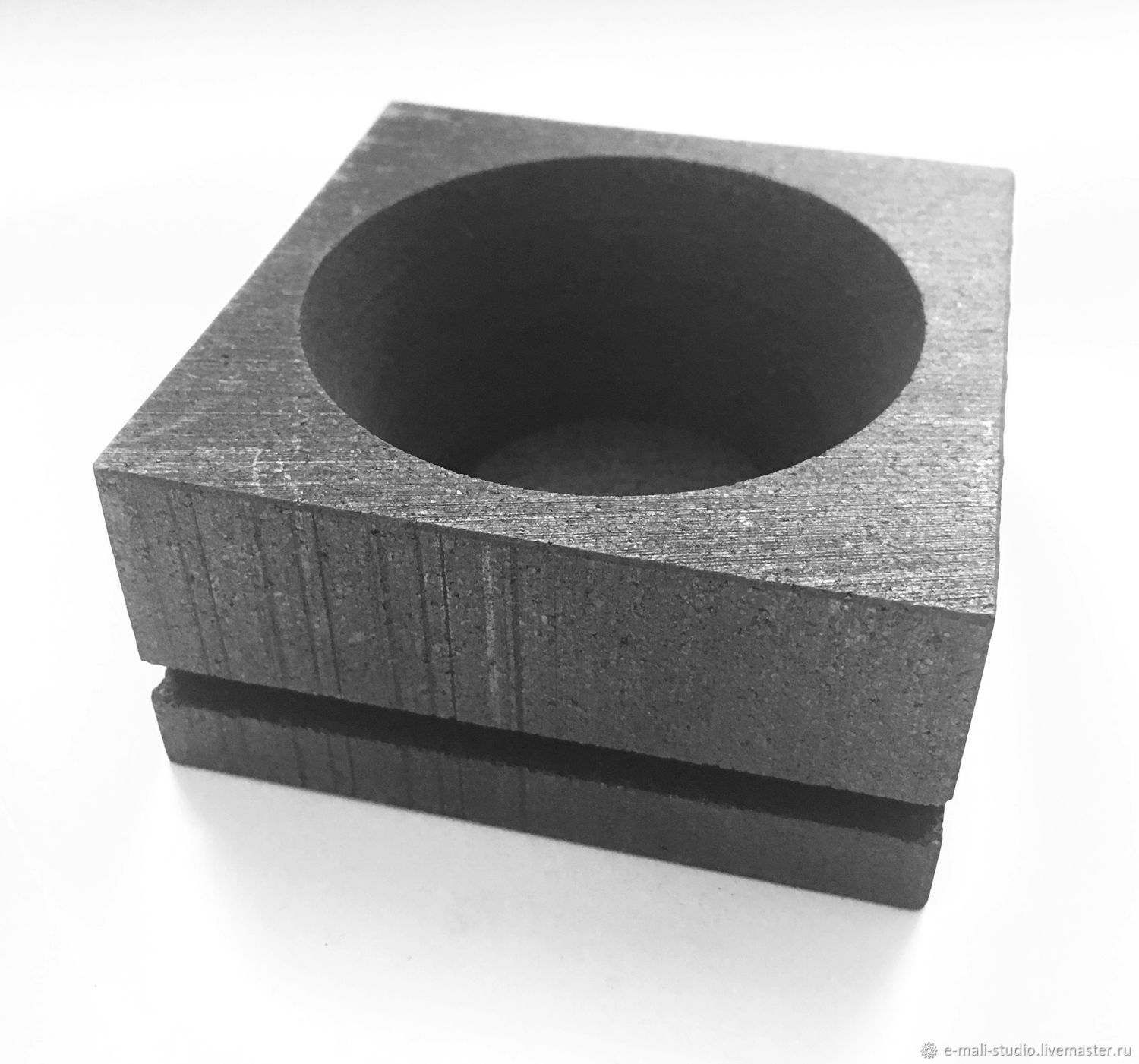 Square Shape Graphite Bowl For Open Fire 75 Mm Shop Online On