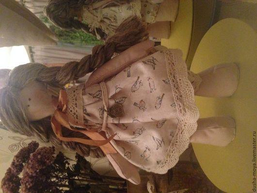 Коллекционные куклы ручной работы. Ярмарка Мастеров - ручная работа. Купить Кукла  Большеножка Матильда. Handmade. Бежевый, шерсть