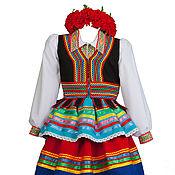 Костюмы ручной работы. Ярмарка Мастеров - ручная работа Польский национальный костюм женский. Handmade.