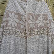 Винтаж handmade. Livemaster - original item Vintage stole,100% sheep wool,vintage India. Handmade.