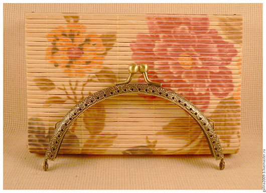 Другие виды рукоделия ручной работы. Ярмарка Мастеров - ручная работа. Купить Фермуар 12,5 см., арка бронзовая.. Handmade.