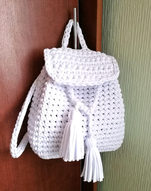 рюкзаки вязанные крючком со схемами и описанием