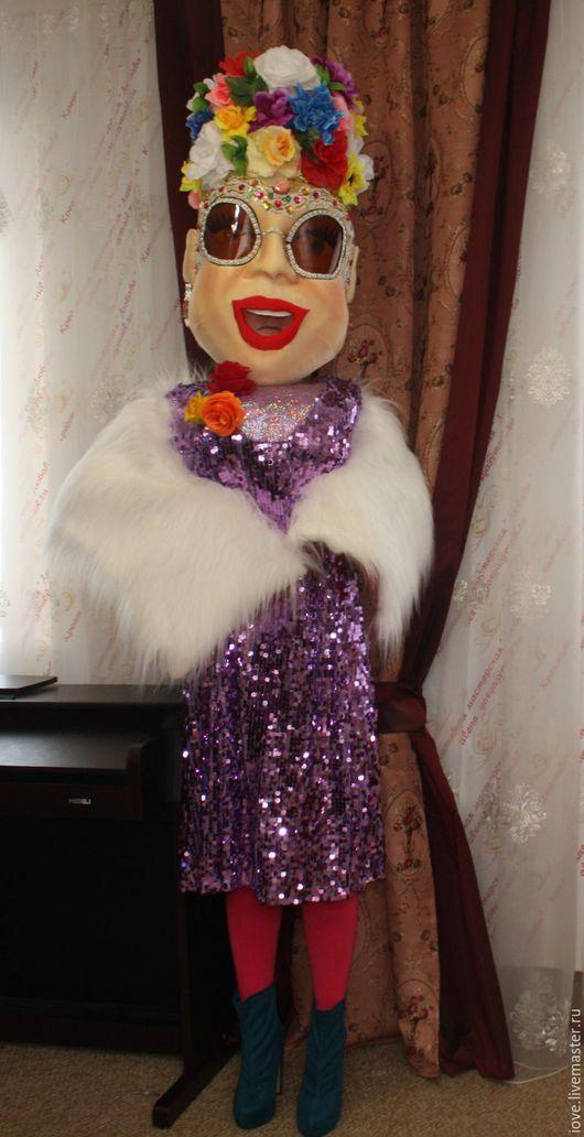Портретные куклы ручной работы. Ярмарка Мастеров - ручная работа. Купить ростовые куклы. Handmade. Кукла ручной работы, поролон