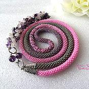 Украшения handmade. Livemaster - original item Necklace with pendant harness