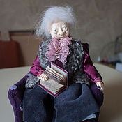 Куклы и игрушки ручной работы. Ярмарка Мастеров - ручная работа Любимая бабушка. Handmade.