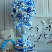 Цветы и флористика ручной работы. Ярмарка Мастеров - ручная работа Топиарий-дерево счастья. Handmade.