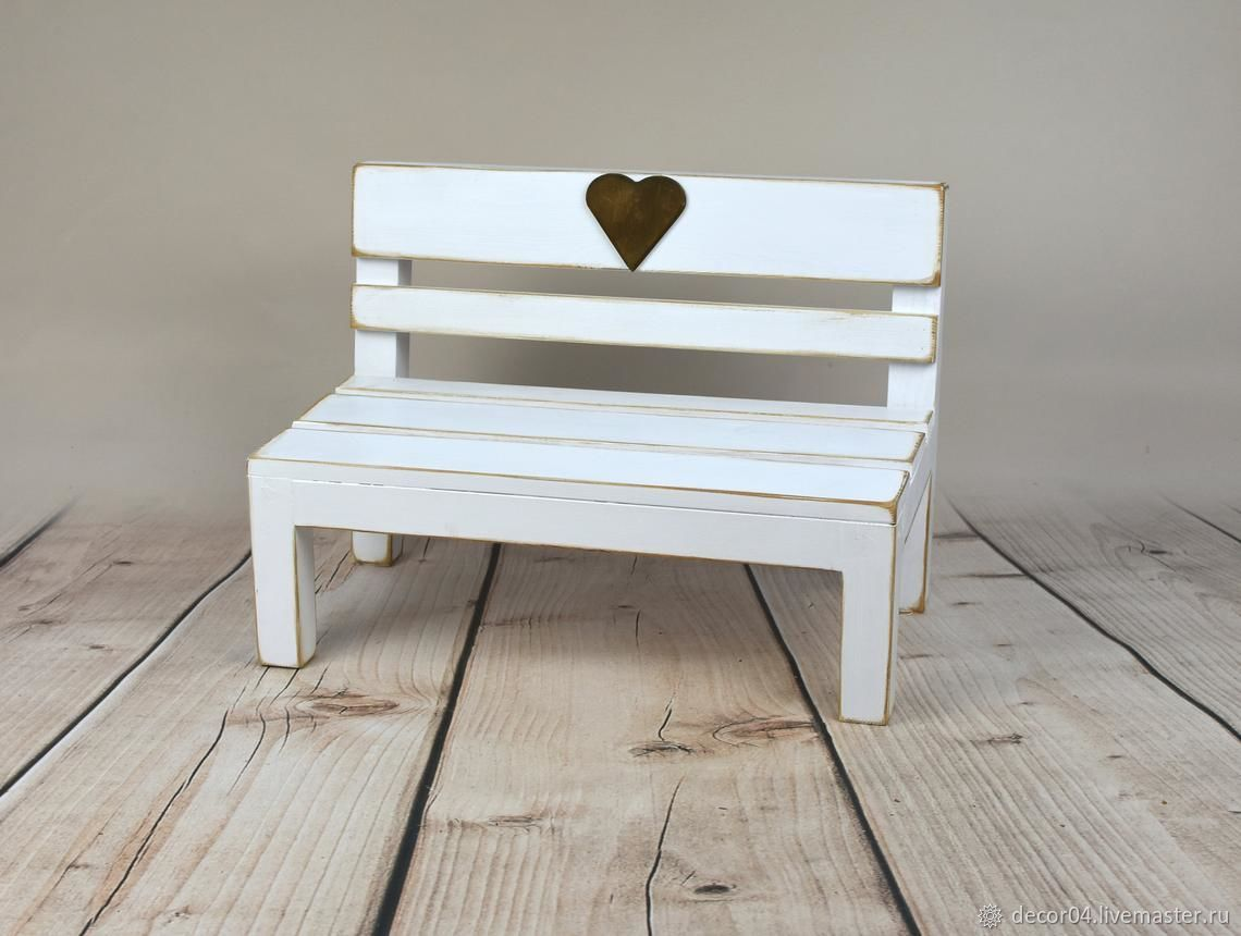 Деревянная скамейка для детской фотосессии, Одежда, Котлас, Фото №1