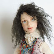 Куклы и пупсы ручной работы. Ярмарка Мастеров - ручная работа Авторская кукла ручной работы Марфа. Handmade.