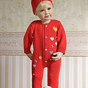 """Работы для детей, ручной работы. Ярмарка Мастеров - ручная работа Скидка! Вязание детям:  костюм """"Гномик"""". Handmade."""