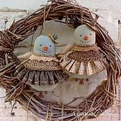 Подарки к праздникам ручной работы. Ярмарка Мастеров - ручная работа Снежные королевы). Handmade.